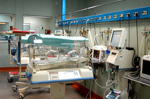 Reparto TIN (Terapia Intensiva Neonatale dell'Ospedale Fatebenefratelli di Roma